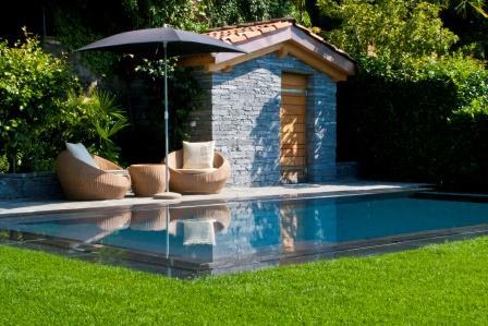 Vendiamo piscine fuori terra e piscine in vetroresina - Piscina seminterrata prezzi ...